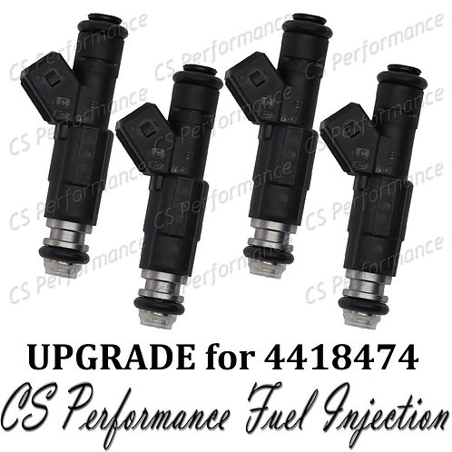 Bosch UPGRADE Fuel Injector (4) set for 84-88 Chrysler Dodge Plymouth 2.2 Turbo