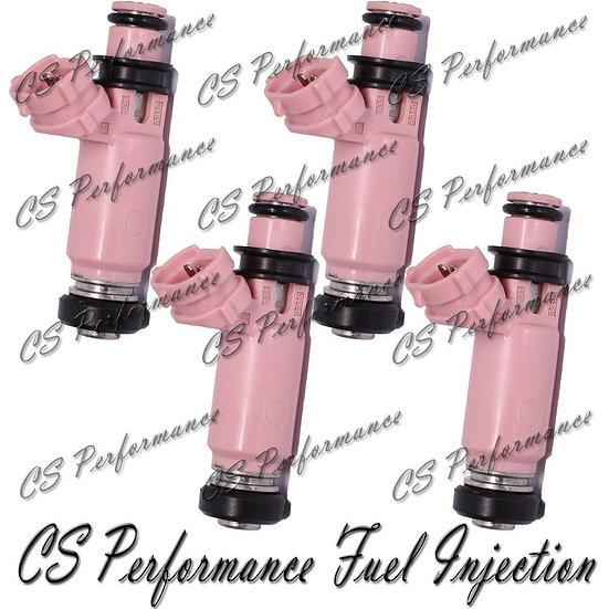 565cc Denso Fuel Injectors (4) 195500-3910 for Subaru Impreza WRX STI Forester