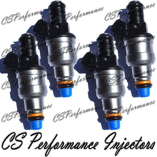 OEM Bosch Fuel Injectors Set (4) 0280150734 for 85-95 Volvo Peugeot 1.9 2.2 2.3