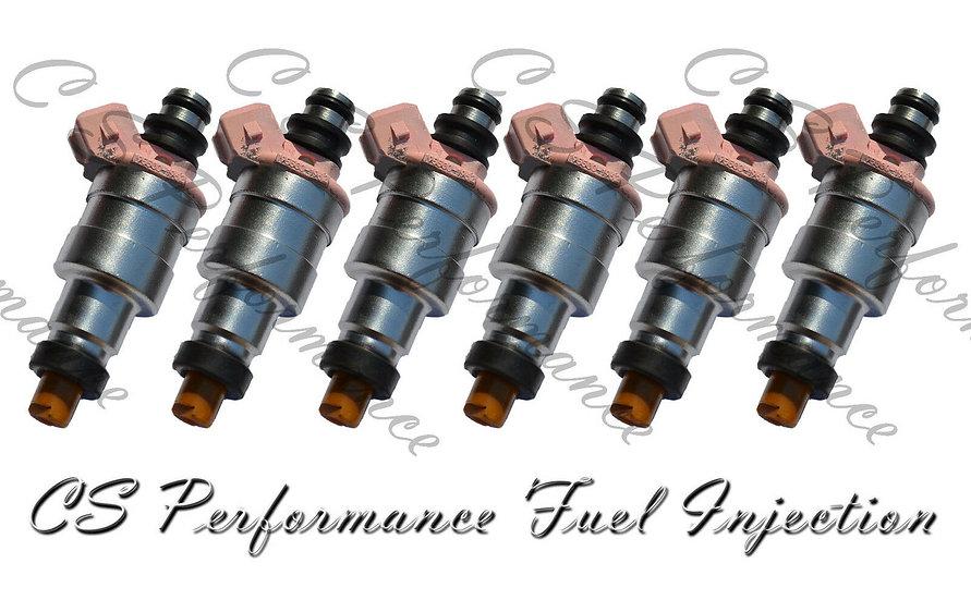 OEM Denso Fuel Injectors Set (6) 195500-1960 for 1989-1995 Ford Taurus 3.0L V6