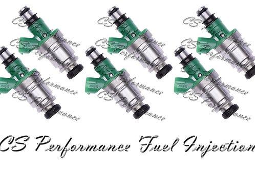 OEM Jecs Fuel Injectors Set (6) JS4J-5 for 1999-2005 Chevy Suzuki 2.5 V6