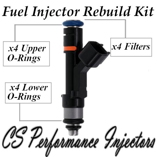 Fuel Injectors Rebuild Repair Kit fits 0280158179 for 08-19 Ford Lincoln 2.0L I4