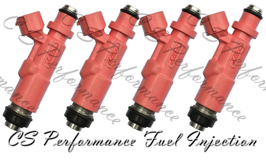 OEM Denso Fuel Injectors Set (4) 23250-75080 2000-2004 Toyota 2.4L 2.7L L4