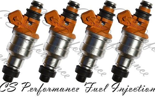 Fuel Injectors Set for Hyundai (4) 35310-33310 Rebuilt & Flow Matched in the USA