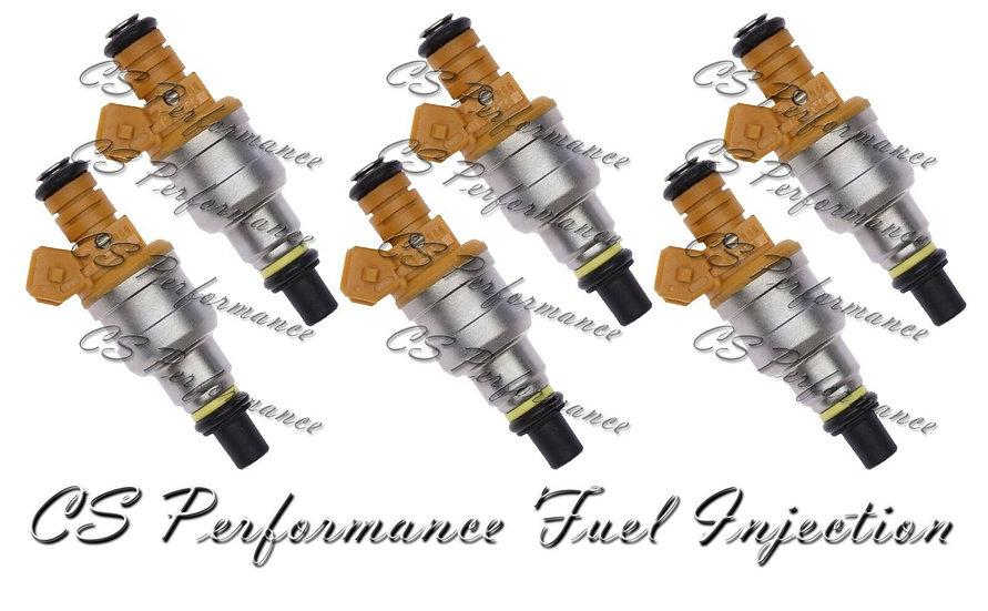 OEM Fuel Injectors Set (6) INP-066 for 92-00 Chrysler Dodge Plymouth 3.0L V6