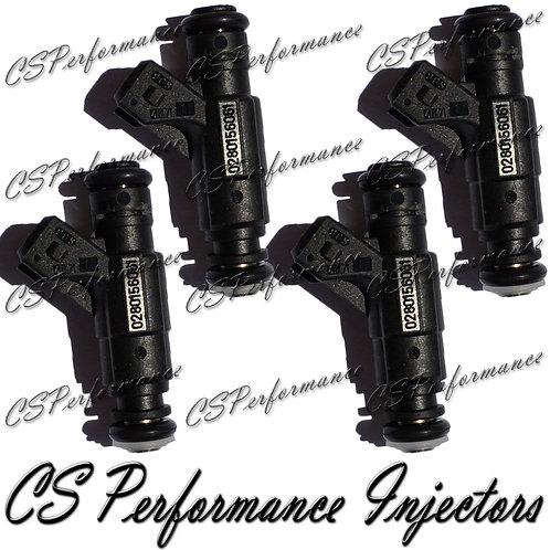 OEM Bosch Fuel Injectors Set (4) 0280156061 for 01-06 Audi Volkswagen 1.8L I4