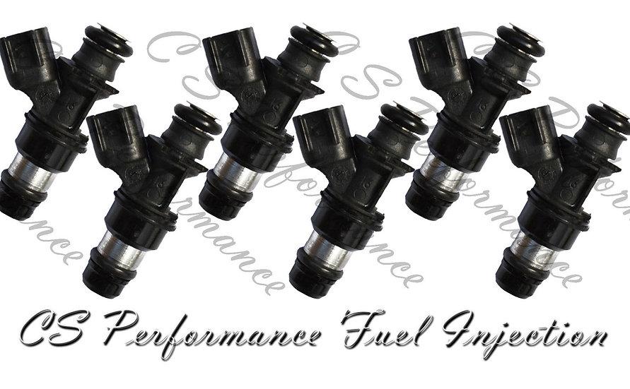 OEM Delphi Fuel Injectors Set (6) 12586557 for 05-07 Buick Chevy Pontiac 3.5 V6