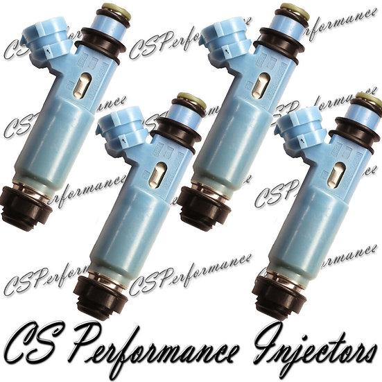 OEM Denso Fuel Injectors Set (4) 23250-74250 for 2000-2001 Toyota 2.2L I4