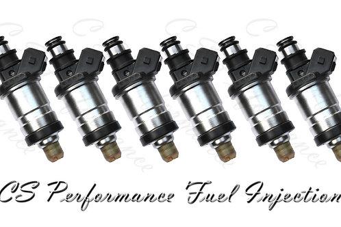 OEM OBD0 Fuel Injectors Set (6) for 1986-1991 Acura Sterling 2.5L 2.7L V6