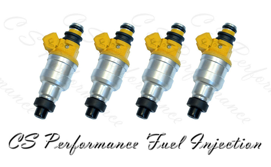 OEM Fuel Injectors Set (4) 35310-24010 for 90-94 Hyundai Mitsubishi 1.5L I4 SOHC