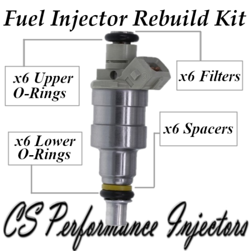 Bosch Fuel Injector Repair Service Kit for 0280150235 0280150217 3.5L 3.8L V6