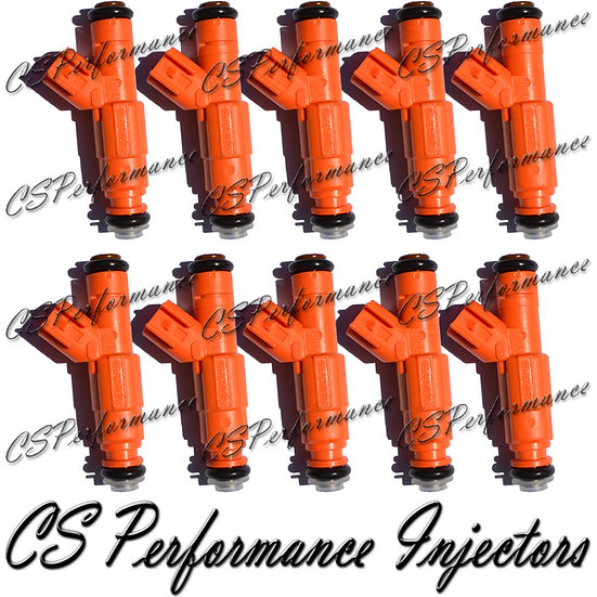 OEM Bosch Fuel Injectors Set (10) 0280155917 for 2000-2005 Ford 6.8L V10