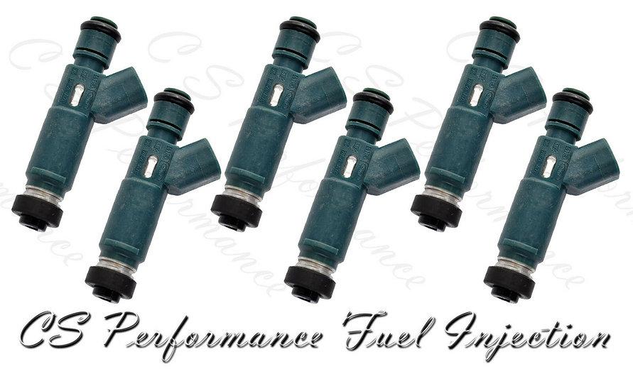 OEM Denso Fuel Injectors Set (6) 2M2E-A7B for 2002-2007 Mazda 3.0L V6