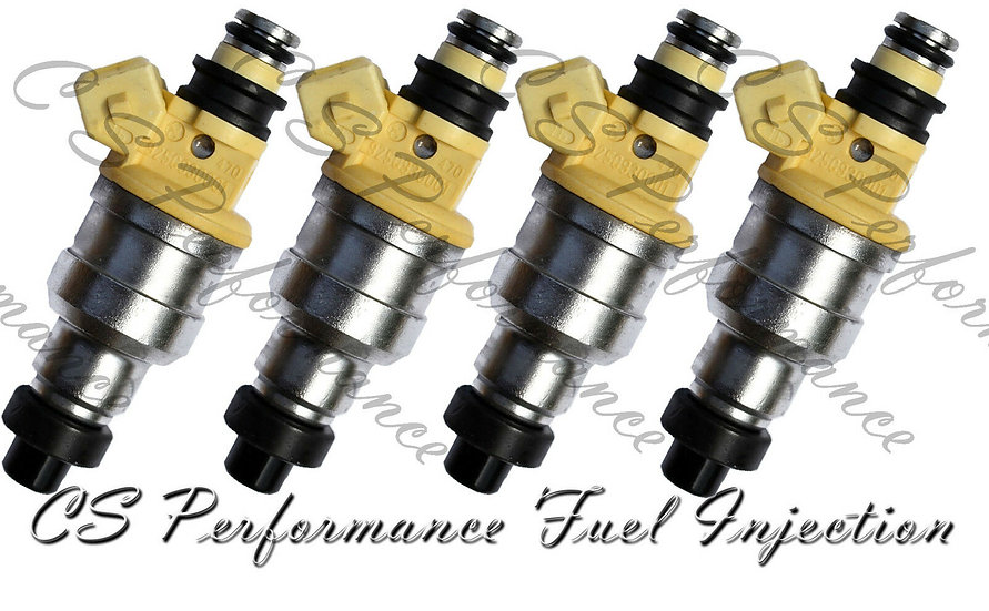 Fuel Injectors Set for Hyundai (4) 35310-32560 Rebuilt & Flow Matched in the USA