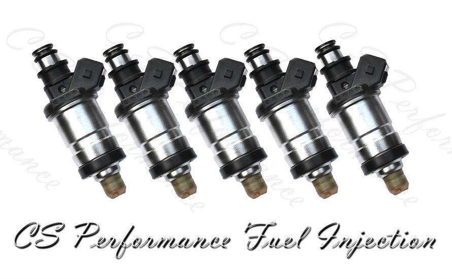 OEM Fuel Injectors (5) Set for 1992-1994 Honda Acura Vigor 2.5L I5 OBD0 92 93 94