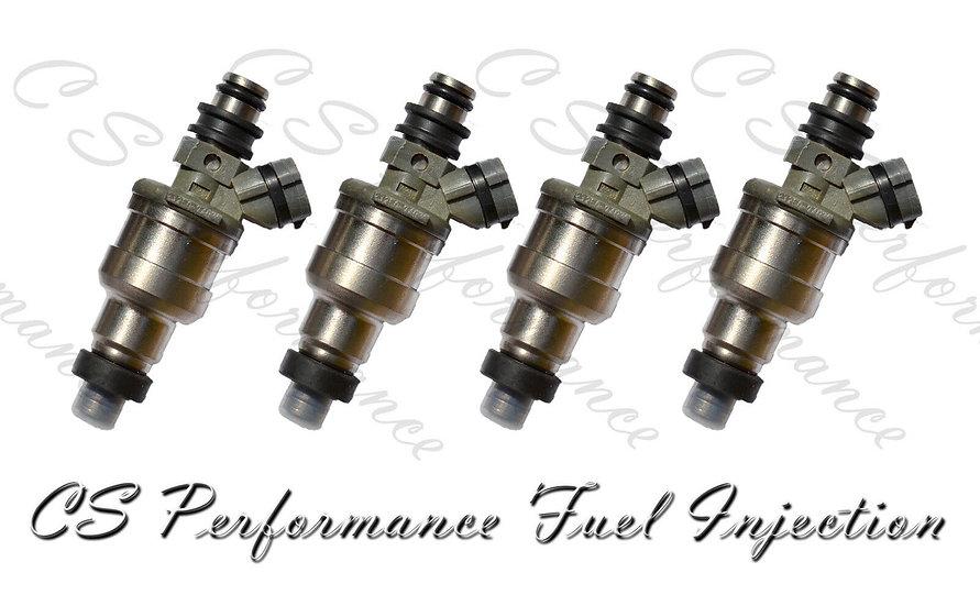 OEM Denso Fuel Injectors Set (4) 23250-74030 for 1987 Toyota 2.0L I4