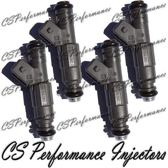 OEM Bosch Fuel Injectors Set (4) 0280155887 for 1999-2004 Ford Mercury 2.0L I4