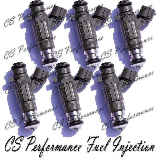 OEM Jecs Fuel Injectors (6) Set FBJC-101 for 2002-2004 Infiniti Nissan 3.5L V6