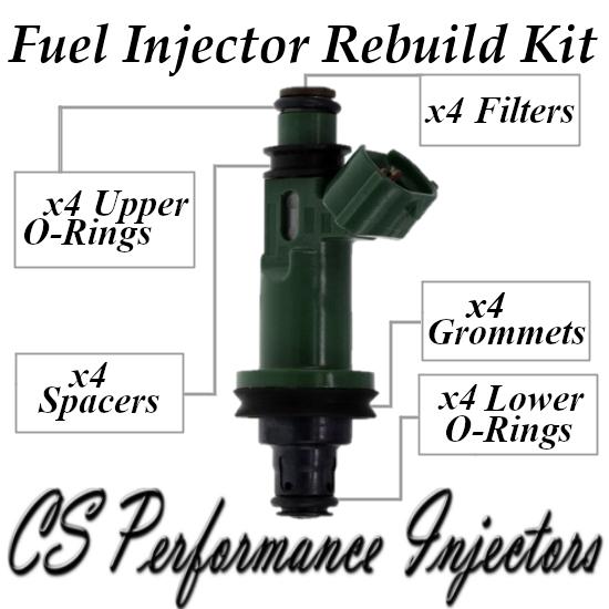 Fuel Injectors Rebuild Repair Kit fits 195500-3400 for 1996-2001 Subaru 2.2 2.5