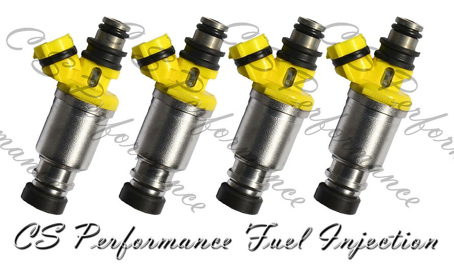 OEM Denso Fuel Injectors Set (4) 23250-74040 for 1990-1992 Toyota 2.2L I4