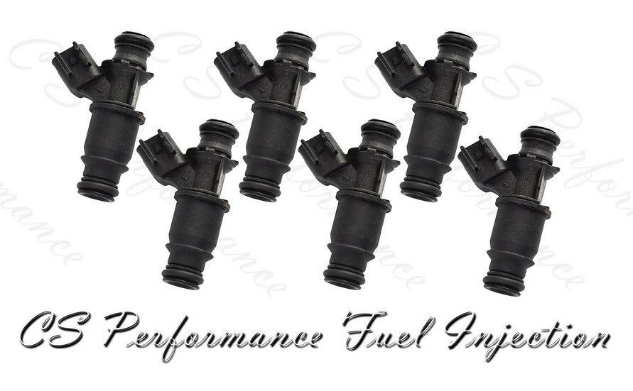 OEM Delphi Fuel Injectors Set (6) 12573427 for 04-09 Buick Pontiac 3.8 V6