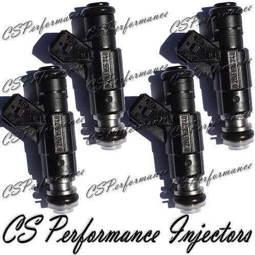 OEM Bosch Fuel Injectors Set (4) 0280155740 for Dodge Plymouth 2.0L I4 SOHC