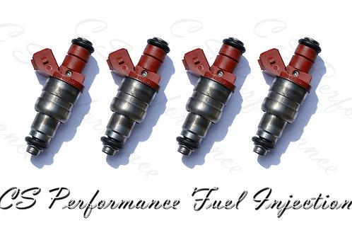 OEM Siemens Fuel Injectors Set (4) 0000788523 1994-1998 Mercedes-Benz 2.2 2.3 I4