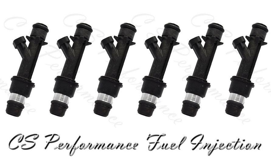 OEM Delphi Fuel Injectors Set (6) 25323971 for Chevy Pontiac Buick 3.1 3.4 V6