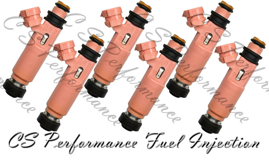 OEM Denso Fuel Injectors Set (6) 23250-20030 for 02-08 Lexus Toyota 3.0L 3.3L V6