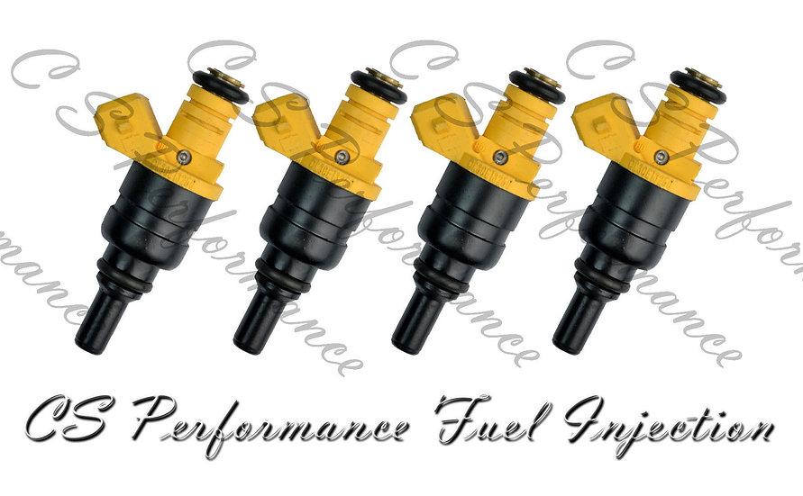 OEM Siemens Fuel Injector Set (4) 0K30E-13250 for 2001-2005 Kia Rio 1.5L 1.6L I4