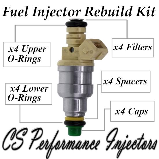Fuel Injectors Rebuild Repair Kit fits 0280150955 for 95-02 Volkswagen 2.0L I4