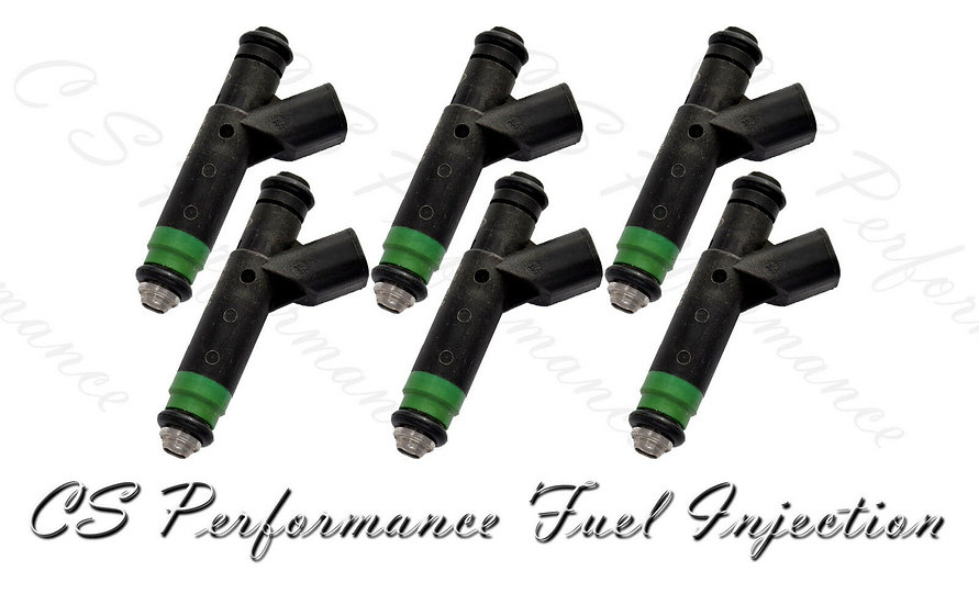 OEM Fuel Injectors Set for Ford (6) 1F1E-D4B for 01-05 Ford Mazda Mercury 3.0 V6