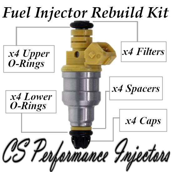 Fuel Injectors Rebuild Repair Kit fits 0280150714 for 91-94 BMW 1.8L I4