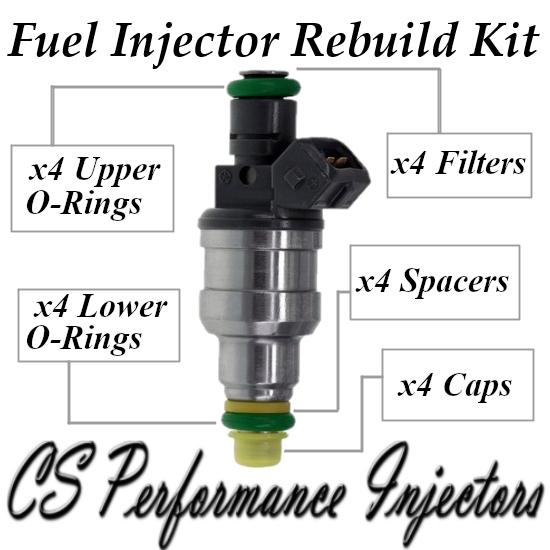 Fuel Injectors Rebuild Repair Kit fits 0280150965 for Chrysler Dodge Eagle 2.0L