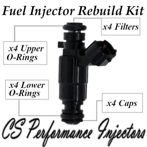 Fuel Injectors Rebuild Repair Kit fits 35310-22600 for 00-05 Hyundai Accent 1.6