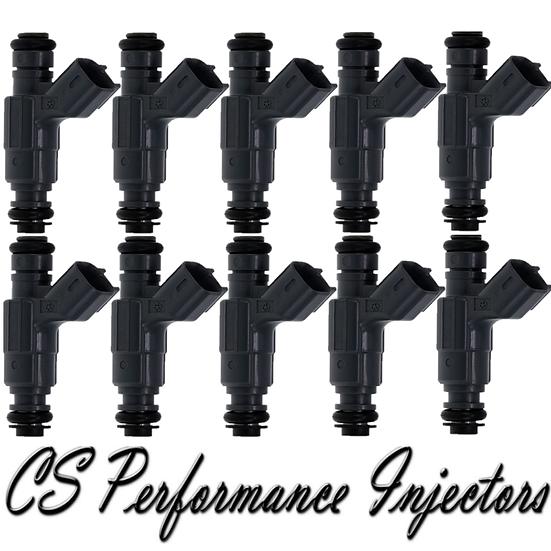 OEM Bosch Fuel Injectors (10) 0280155780 for 98-03 Dodge Ram 2500 3500 8.0L V10