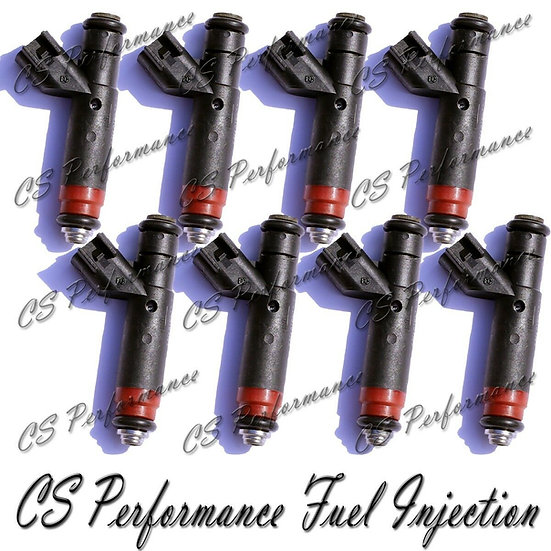 OEM Siemens Fuel Injectors Set (8) 53032145AA for 2001-2004 Dodge Jeep 4.7L V8