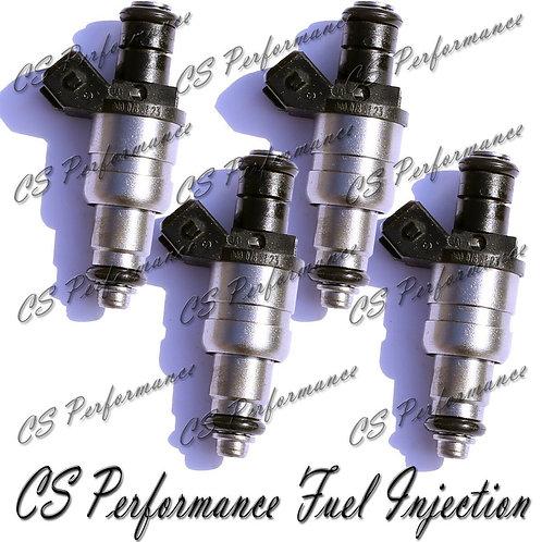 OEM Siemens Fuel Injectors Set (4) 0000788123 for 1998-2000 Mercedes 2.3L I4