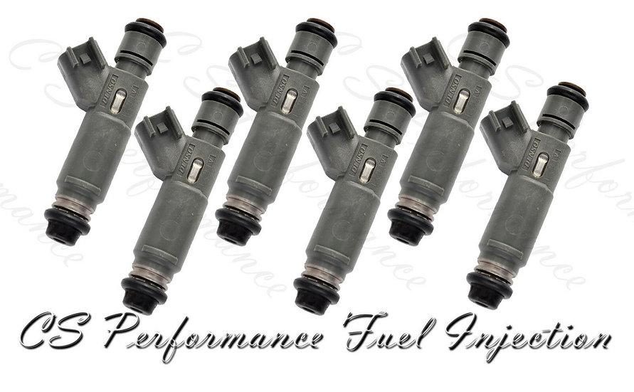OEM Denso Fuel Injectors Set (6) 2F1E-A7A for 2002-2003 Ford Mercury 3.0L V6 Gas