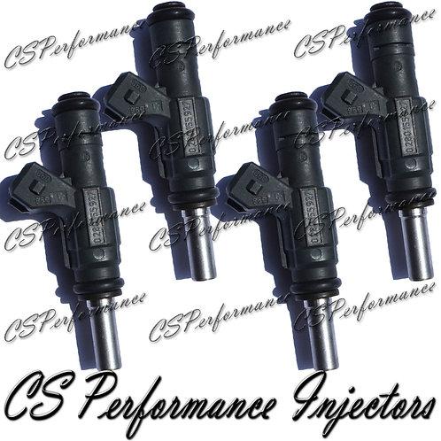 OEM Bosch Fuel Injectors Set (4) 0280155927 for 1999-2001 Volkswagen 1.8L Turbo