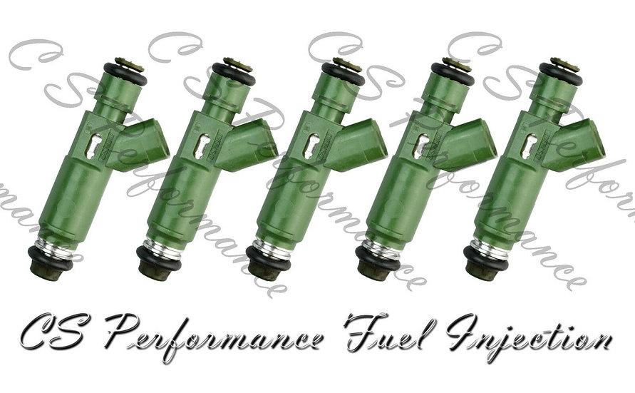 OEM Denso Fuel Injectors Set (5) 9470229 for 2001-2007 Volvo 2.4L I5