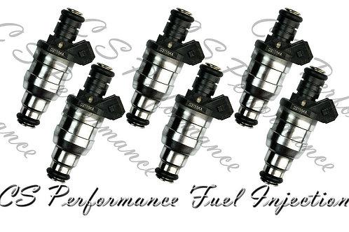 OEM Lucas Fuel Injectors Set (6) D3155KA for 1993-1995 Jaguar 4.0L L6