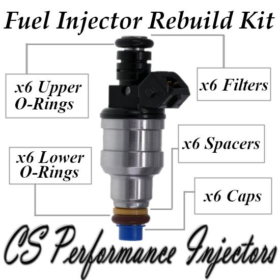 Fuel Injector Rebuild Kit for Bosch 0280150428 1994-1995 Saab 2.5L 3.0L V6