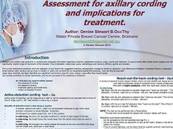 AWS / Cording  Assessment Poster (digital)