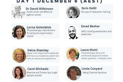 Breast Cancer Rehab & Wellness Summit 2016 One summit presentation only
