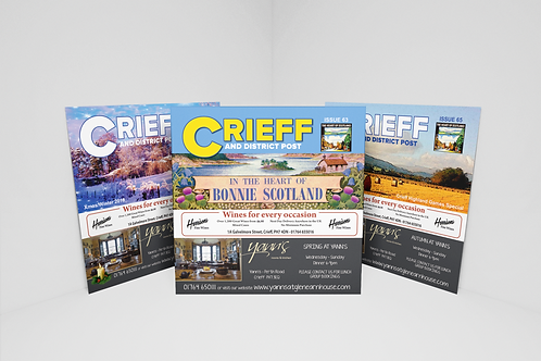 Crieff and District Post  - Spring Issue 21