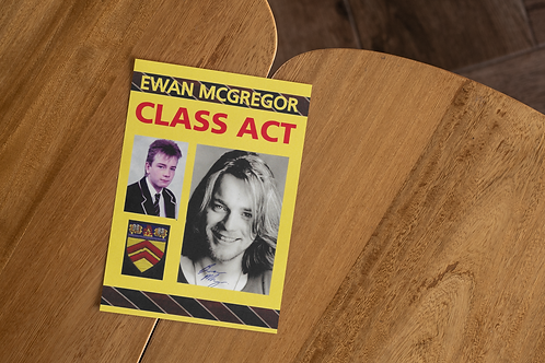 Ewan Mcgregor, Available as A3 Poster or Greetings Card