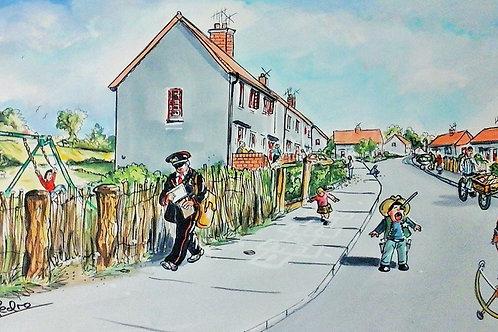 Alligan Road, Crieff