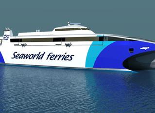 Incat Tasmania awarded new 76 Metre High Speed Catamaran Contract by Seaworld Express Ferry