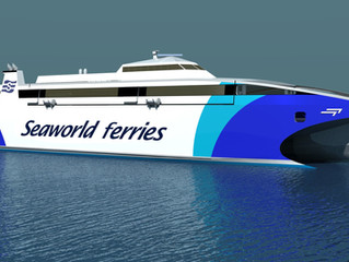 Incat Tasmania awarded new 76 Metre High Speed Catamaran Contract by Seaworld Express Ferry